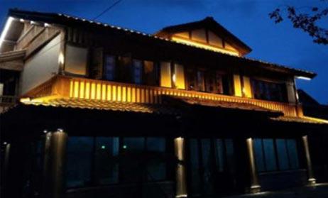 湖州丝绸小镇夜景泛光照明工程案例