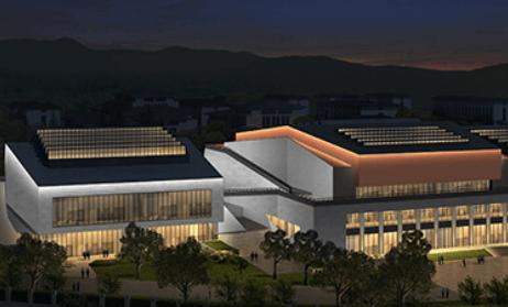 杭州临安警察学院泛光照明工程案例