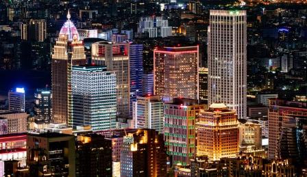 建筑泛光照明设计如何合理运用光色增强艺术效果!